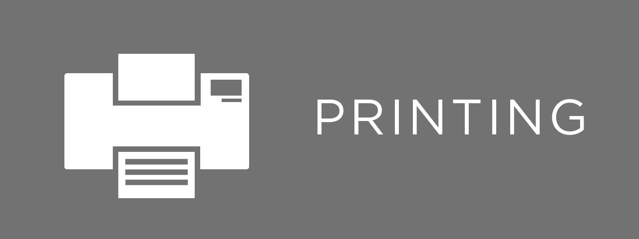 NYU printing